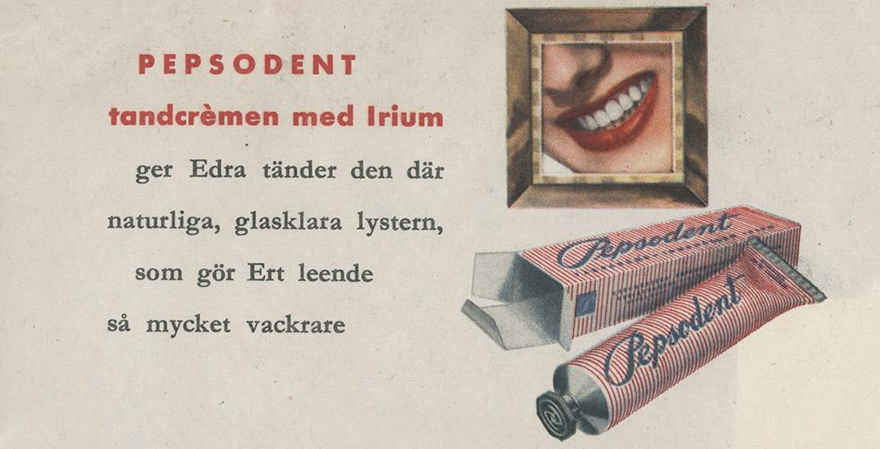 Tandröta – 50-talets dolda sjukdom