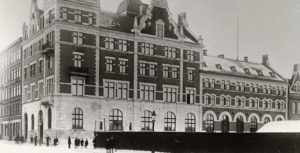 Företagshistoriska Stockholm: Fleminggatan 8