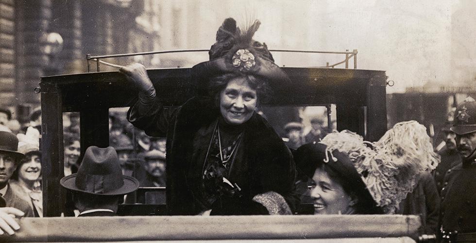 UR Samtiden: Emmeline Pankhursts brev till AGA