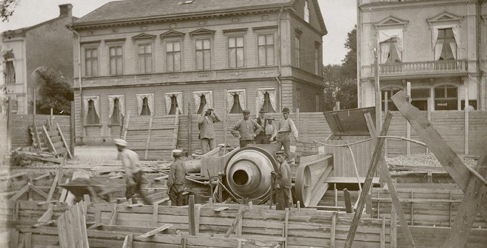 Vikten av cement – en historisk översikt
